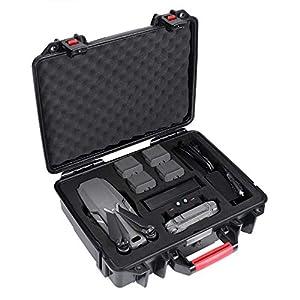 Smatree Étui Rigide Etanche pour DJI Mavic 2 Pro/Valise de Transport pour DJI Mavic 2 Zoom (Drone et Accessoires Non fourni)