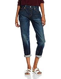 Levi's Vaquero 501 Ct Jeans For Women Azul Oscuro W27L34