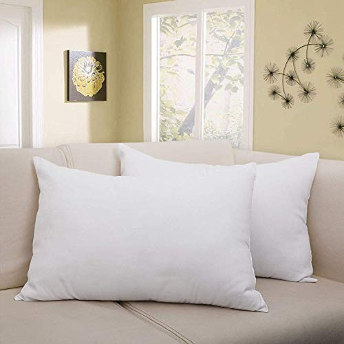 Star Bazaar Set of 2 Premium Microfiber Super Soft Sleeping Pillow Luxurious Hotel Quality Bedding (40X60 cm) (16X24 Inch)