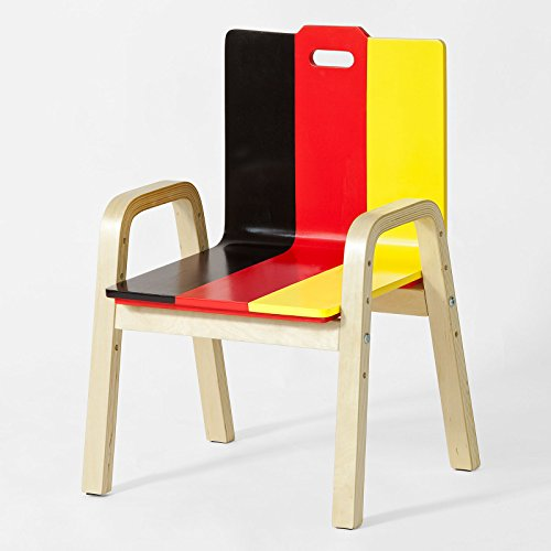 Promotion -60%! SoBuy® FST30-DE Fauteuil Enfant Chaise Confortable en Bouleau pour enfant