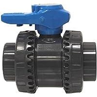 Fip - vib63c - Vanne PVC Double Union à Coller 63mm