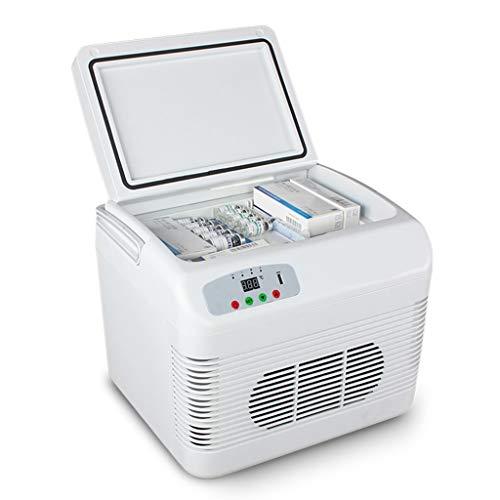Tragbare Kühlschrank 12L Mini Kühlschrank Kühler Gefrierschrank Drug Insulin Impfstoff Kühlschrank Wärmer TG Auto Home Travel Camping Picknick -