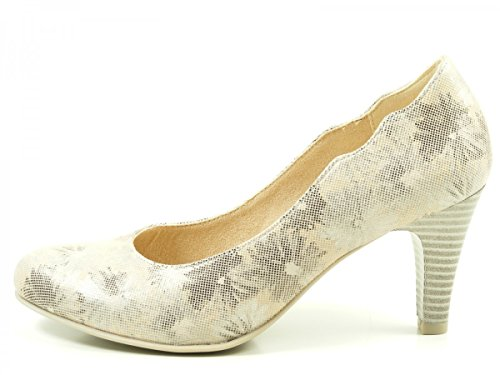 Caprice Damen 22406 Pumps Beige