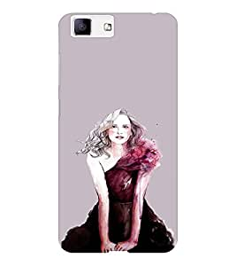 EPICCASE Supermodel Mobile Back Case Cover For Vivo X5 (Designer Case)