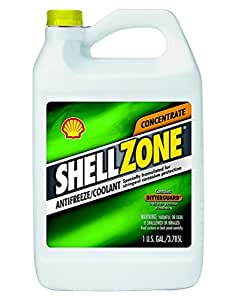 Shellzone 9401006021 Concentrated Antifreeze/coolant, 1 Gallon (Pack Of 6)