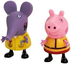 Giochi Preziosi Peppa Pig 4905 Figura de Juguete para niños Niño/niña 2 Pieza(s) - Figuras de Juguete para niños, 3 año(s), Niño/niña, Francés, Griego, Italiano, China, 50 mm