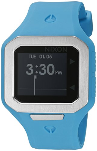 Nixon Men's A316917 Supertide Digital Quartz Blue Watch