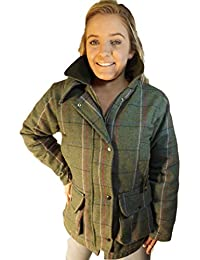 Campbell Cooper Ladies Original Classic Fitted Tweed Countrywear Fashion Jacket Pink New