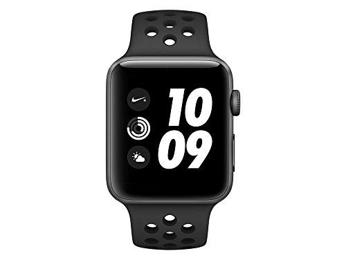 41KZZXC2ITL - [Gravis] Apple Watch Nike+ GPS 42mm Space Grau Aluminiumgehäuse für nur 369€ statt 399€
