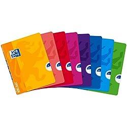 Oxford Openflex 400026392 - Pack de 10 libretas grapadas de tapa blanda, A5+