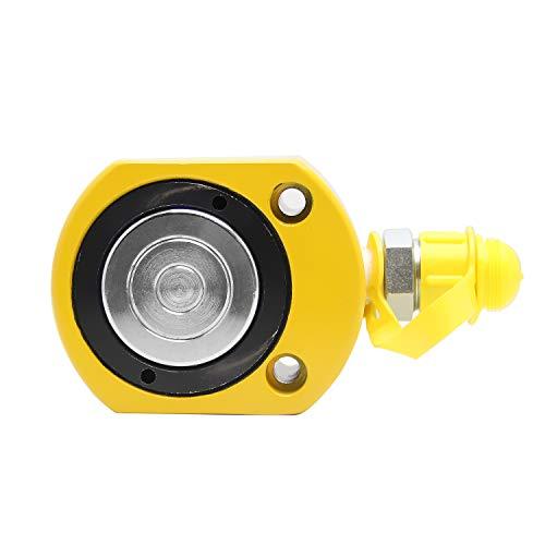 Newtry 50T, 18 mm Portable Mini Super mince Séparant hydraulique industrielle Jack/Cylindre hydraulique (50T, 18 mm)