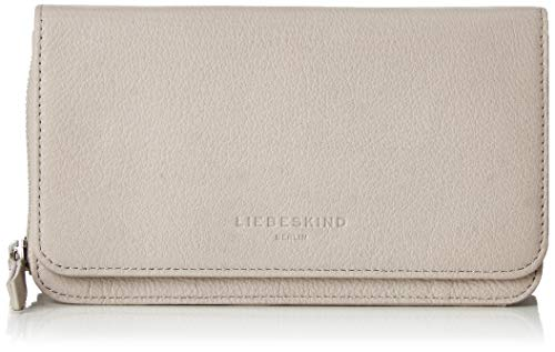 Liebeskind Berlin Damen Basic Slg Elisa Clutch Small, Grau (String Grey), 4x12x19 cm