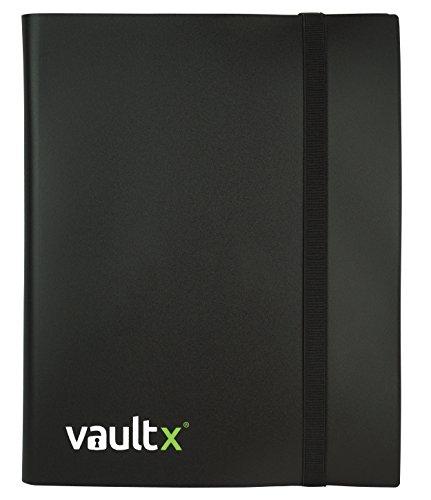 Vault X Heftmappe - 9 Fächer Sammelkarten Trading Cards Mappe - 360 Fächer mit Seitenöffnung für Spielkarten zum sammeln und tauschen