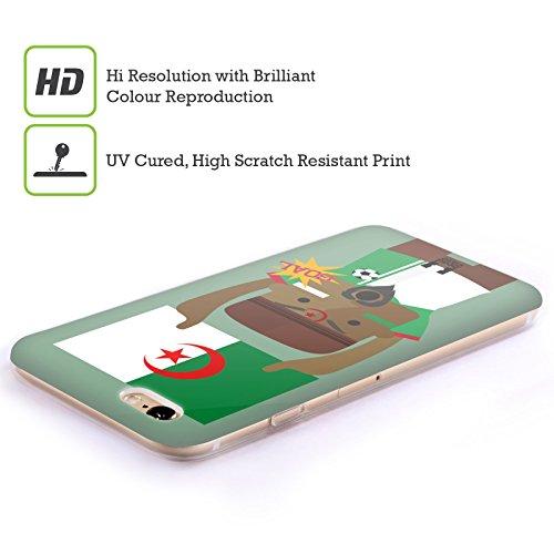 Head Case Designs Nigeria Viva Il Calcio Cover Morbida In Gel Per Apple iPhone 7 / iPhone 8 Algeria