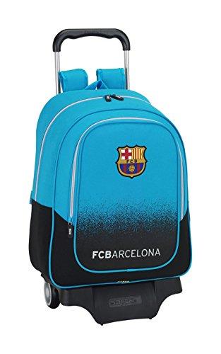 077012 Barça 3 Mochila Tipo Casual, Color Azul Turquesa