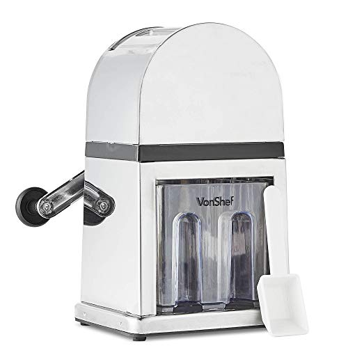 VonShef Broyeur à glace/Machine à glace pilée...