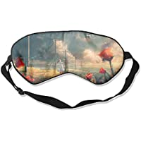 Sleep Eye Mask Abstract Kite Girl Lightweight Soft Blindfold Adjustable Head Strap Eyeshade Travel Eyepatch E6 preisvergleich bei billige-tabletten.eu