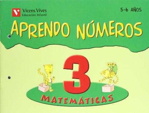 Aprendo Números. Cuaderno 3 - 9788431666064