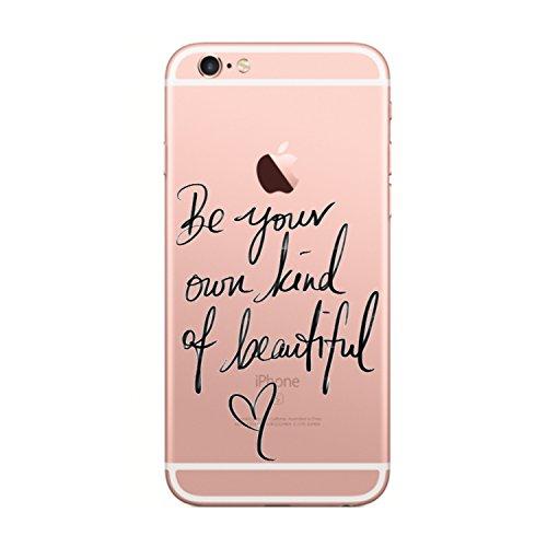 iPhone 6s Plus/iPhone 6 Plus Cover (5.5 pollici),Transparent Custodia Antiuroto Ultra Sottile Bumper Soft Morbido TPU Gel Silicone Protettiva Case per iPhone 6s/iPhone 6 Gel di silice4