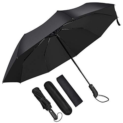 Junefish Travel Windproof Umbrella Unbreakable Automatic Compact Umbrellas Men//W