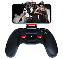 Controller Wireless per Android, Maegoo Bluetooth Wireless Mobile di Gioco Controller Gamepad Joystick con Staffa Retrattile Compatibile per Android Telefono