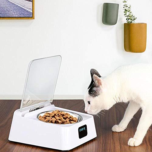 ckground Pet Bowl Pet Infrared Sensor Automatische offene Abdeckung Hund Katze Anti-Kakerlake Anti-Maus Feuchtigkeitsbeständige Intelligent Feeder Bowl Pet Feeder -