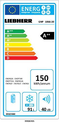 Liebherr GNP 1066 Gefriergerät/A++ / 91 L