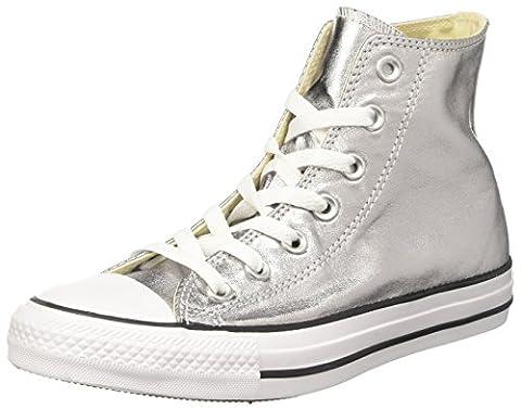 Converse Damen Ctas Hi Sneakers, Grau (Gunmetal/White/Black), 40 EU