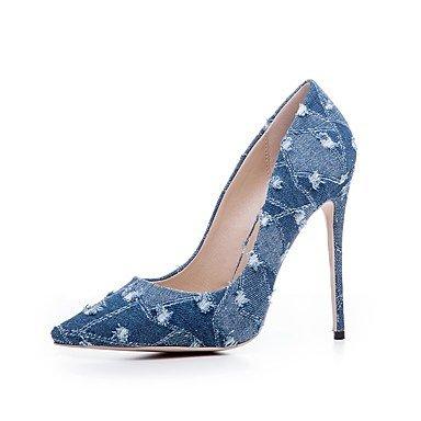 RTRY Donna Tacchi Scarpe Formali Primavera Denim Fall Office &Amp; Carriera Parte &Amp; Sera Stiletto Heel Luce Blu Navy Blue 4A-4 3/4In US11 / EU43 / UK9 / CN44