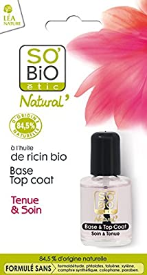So 'Bio Étic Long-Lasting Hold & Gel Nail Primer Top Coat 10 ml