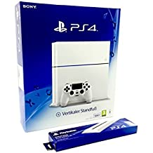 Playstation 4 - Consola Básica, Nuevo Chasis - Reedición PS4 Blanca 500gb / Glacier White CUH-1216A