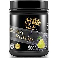 Preisvergleich für UB Nutrition BCAA Pulver 2:1:,hochwertige Zutaten MADE IN GERMANY (Birne)