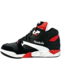 Reebok Court Victory Pump Schuhe black-white-rbk red - 40,5