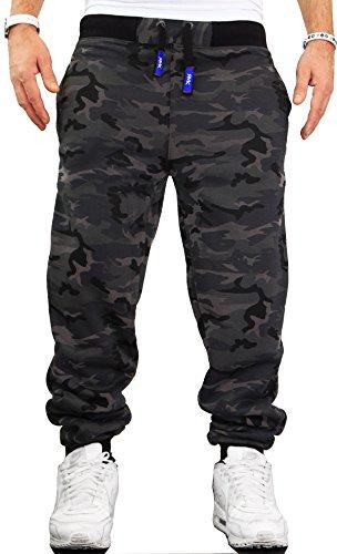 Herren Hose Jogginghose Trainingshose Fitnesshose Sweatpants UNI Einfarbig