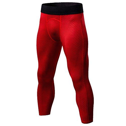 df8dd98327e3db Bliefescher Hosen Herren Compression Tights Fitness Leggings Slim Fit  Atmungsaktiv Sporthosen