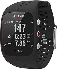 Idea Regalo - Polar M430, Orologio GPS Multisport con Cardiofrequenzimetro Integrato Unisex-Adulto, Impermeabile, Nero, M-L