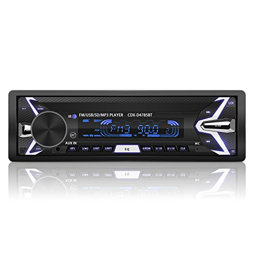 YOHOOLYO Radio Coche Bluetooth Auto Radio FM USB MP3 Audio Estéreo Manos...