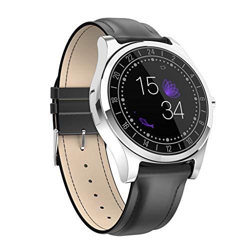 Smart Watch - Herzfrequenz Blutdruck Schlaf Überwachung Smartwatch Bluetooth Blutdruck Watch Männer Frauen Für iPhone Android (C) ()