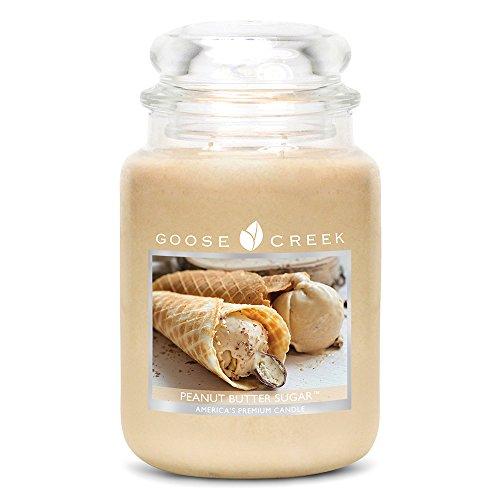 Goose Creek 24Oz Duftkerze Peanut Butter Zucker, Tan -