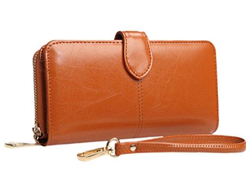 mujeres-aceite-de-cera-cartera-de-cuero-largo-carpeta-bolso-tarjetas-monedero-billetera-mujer