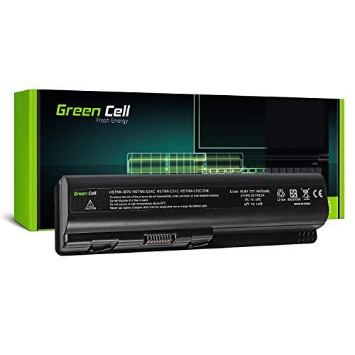 GC® Laptop Akku für HP Pavilion DV5-1030ES DV5-1030EV DV5-1030EW DV5-1030TX DV5-1031EL (4400mAh 10.8V Schwarz) -