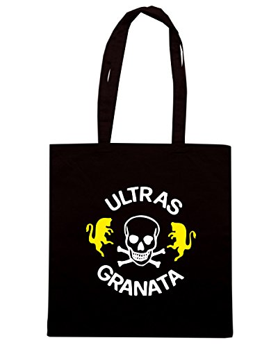 T-Shirtshock - Borsa Shopping TUM0086 ultras grantata torino Nero