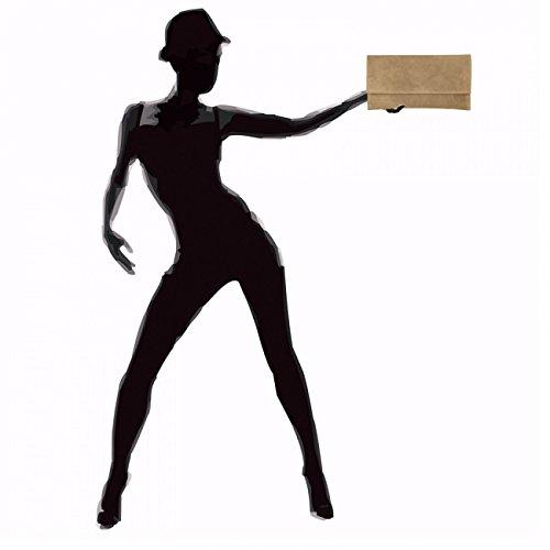 CASPAR Fashion, Poschette giorno donna Marrone (Marrone)