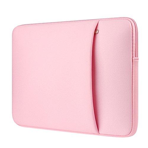 Custodia Protettiva Sleeve Case Borsetta per Laptop / Notebook / Macbook Air / Macbook Pro / Macbook Pro Retina Pink 2 15 Pollici