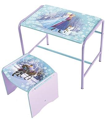 Frozen 472FZN - Juego de escritorio y taburete infantil, color morado por Worlds Apart