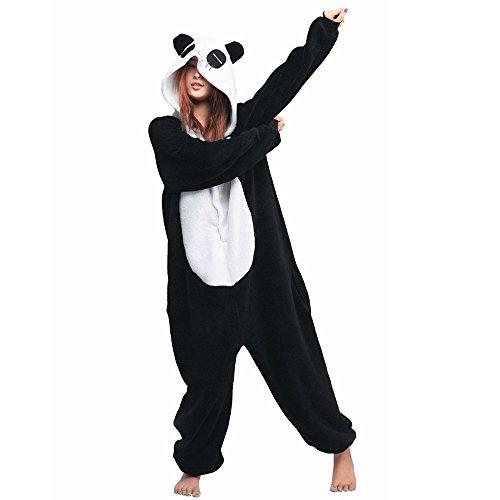 Unicsex Süß Tier Overall Pyjama Jumpsuit Kostüme Schlafanzug Für Kinder / Erwachsene (S, (Süße Kostüme)