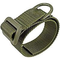 SHIYM-belt, CQC táctica Universal del Arma Cuerda Culata Honda Adaptador de Montaje de la Correa de Airsoft Militar Fusil de Caza Adjunto Strapping Cinturón (Color : OD)