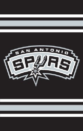 San Antonio Spurs 2-Sided AppliquÃÃ'© Banner Flag by Party Animal