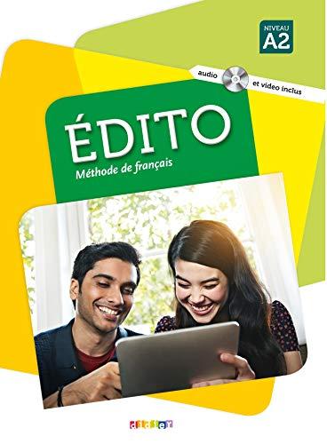 Edito. Niveau A2. Per le Scuole superiori. Con CD-Audio. Con DVD-ROM