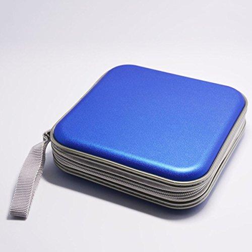 hangqir-40-disc-cd-dvd-portable-storage-case-wallet-hard-box-bag-holderblue